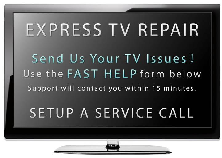Express Television Repair - Mobile In Home Same Day TV Repair Service