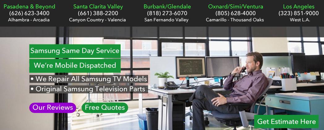 SAMSUNG TV REPAIR LOS ANGELES eTV (877)222-0535