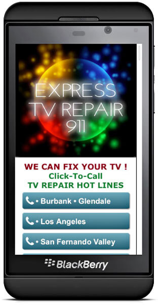 Mobile TV Repair We Come To You
