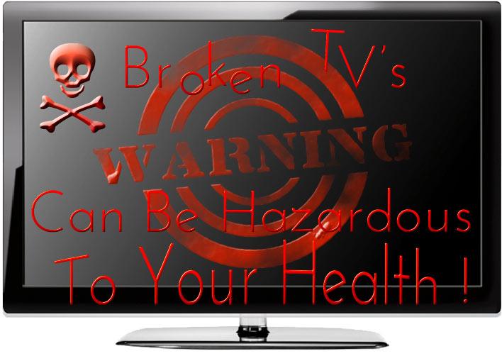 Broken Televisions
