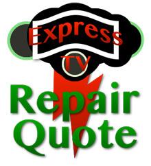 TV Repair Estimates & Quotes