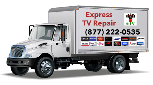 Mobile TV Repair Services