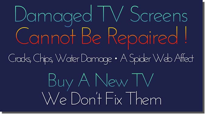 Flat Screen TV Repair