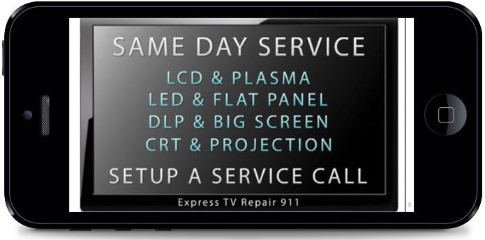 Express TV Repair Mobile App